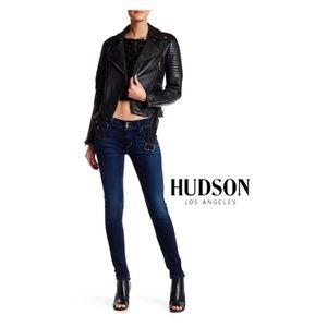 NWT Hudson Dark Wash Skinny Jeans Elysian Collin